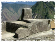 Photos of Machu Picchu: Intihuatana / Sun Dial / Sun Clock